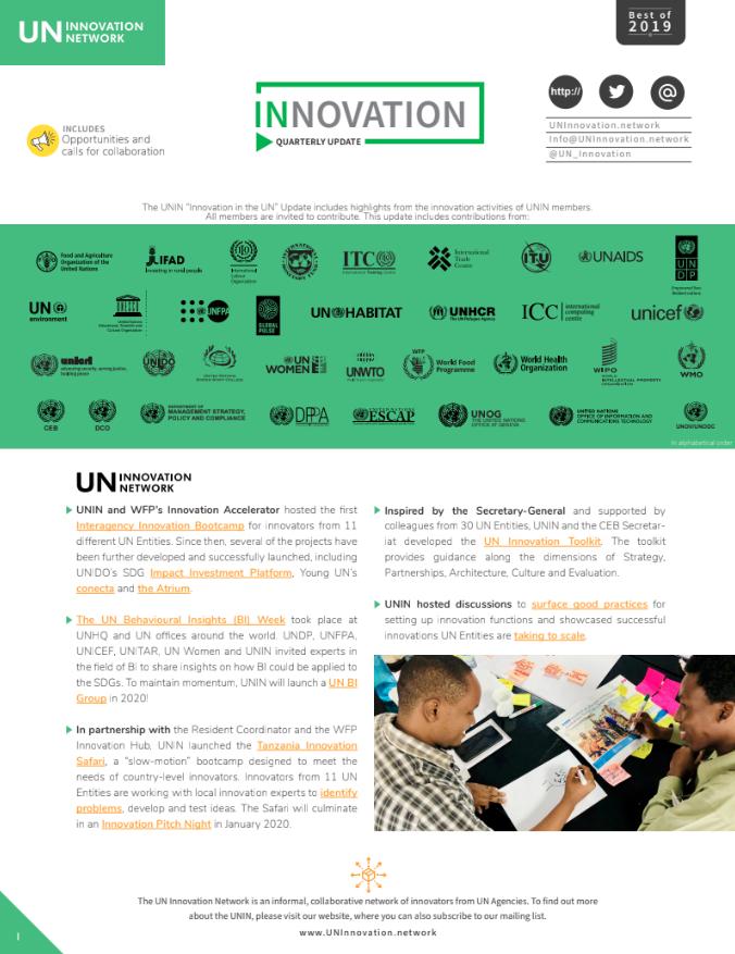 Best of UN Innovation 2019