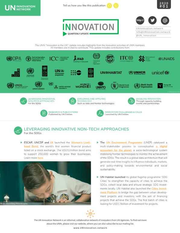 UNIN – Quarterly Innovation Update, Q1 2020