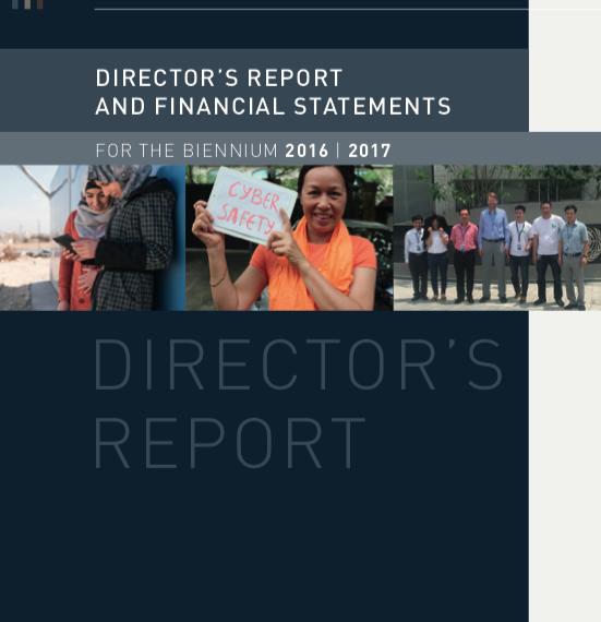 Director's Report and Financial Statements, Biennium 2016-2017