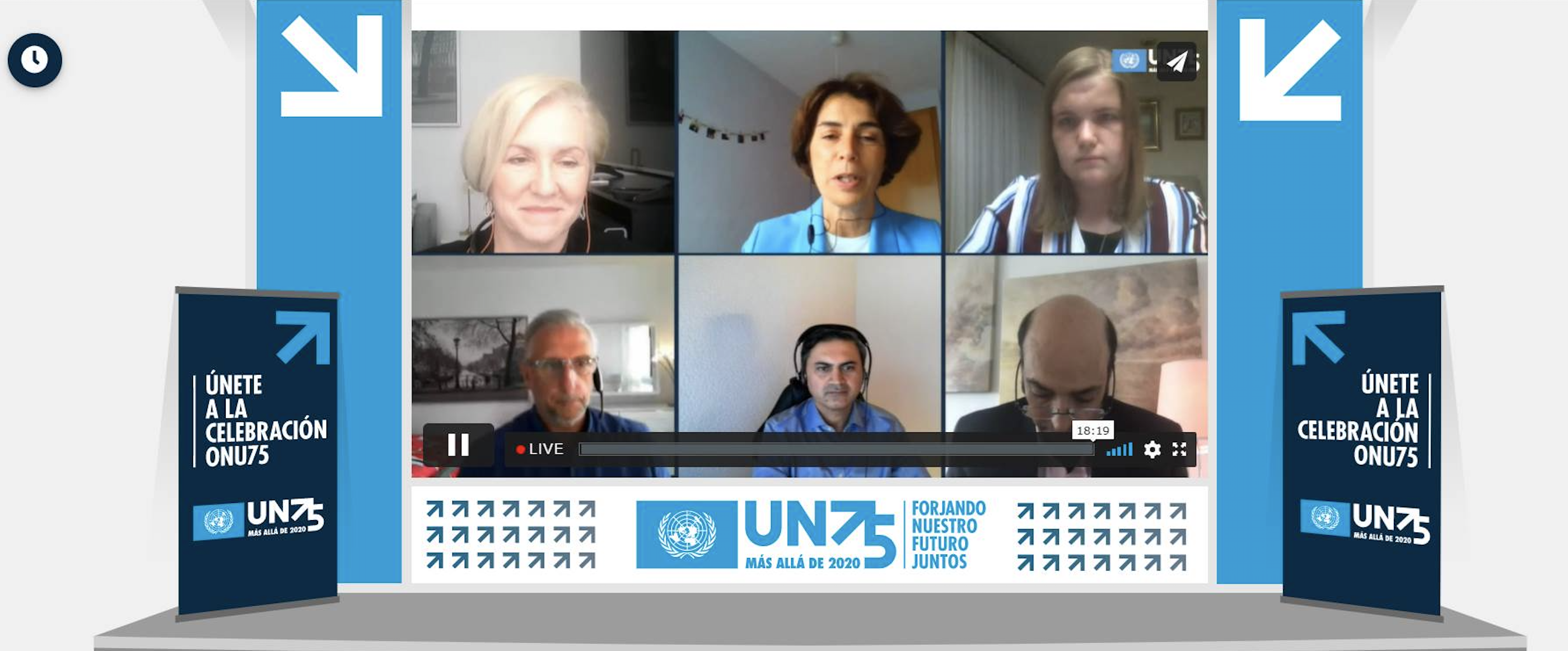 UNICC's Director Brings UN Perspective to a Debate on Technology and the SDGs
