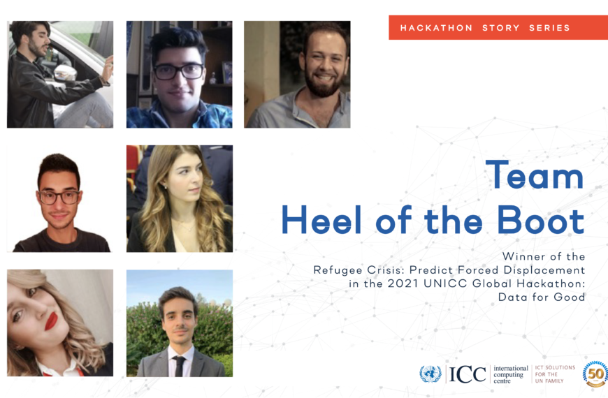 Heel of the Boot: University of Salento Team Wins Global Challenge on Predicting Refugee Forced Displacement