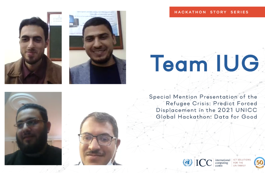 Palestinian University Students Receive Special Mention in UNICC Data Hackathon