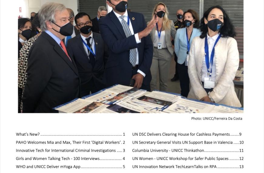 UNICC News Digest Fall 2021