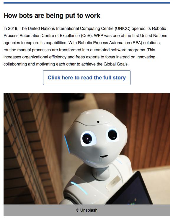 Impact Stories of International Geneva, October 2020