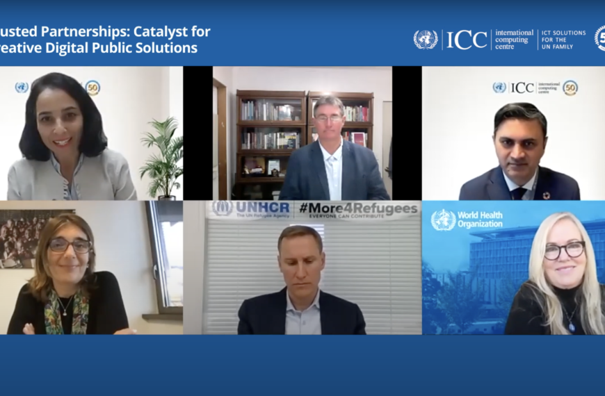 UNICC Partners Discuss Trusted Partnerships for Digital Public Solutions
