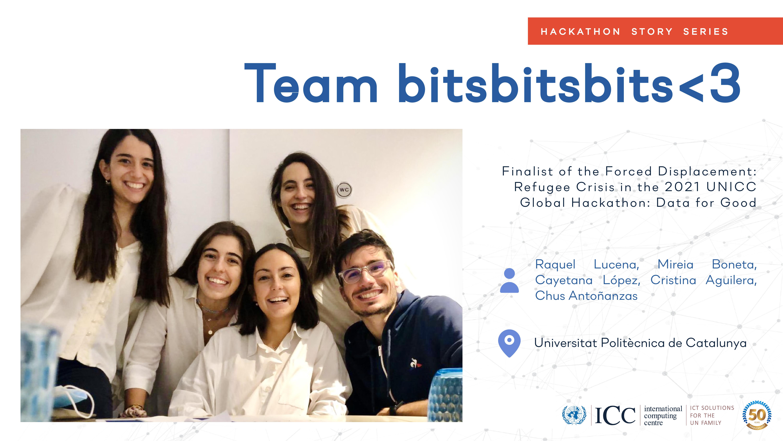Data hackathon, team, UNICC, United Nations, Data